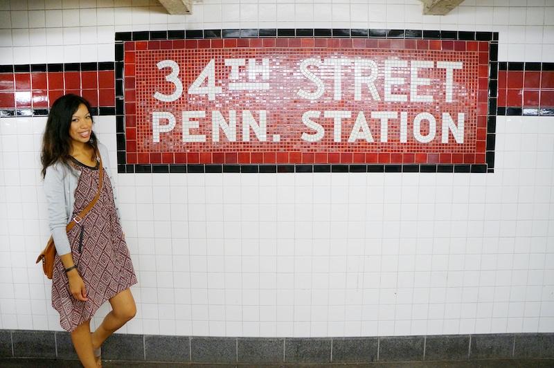 Pattie Cordova at New York City Subway - livingmividaloca.com