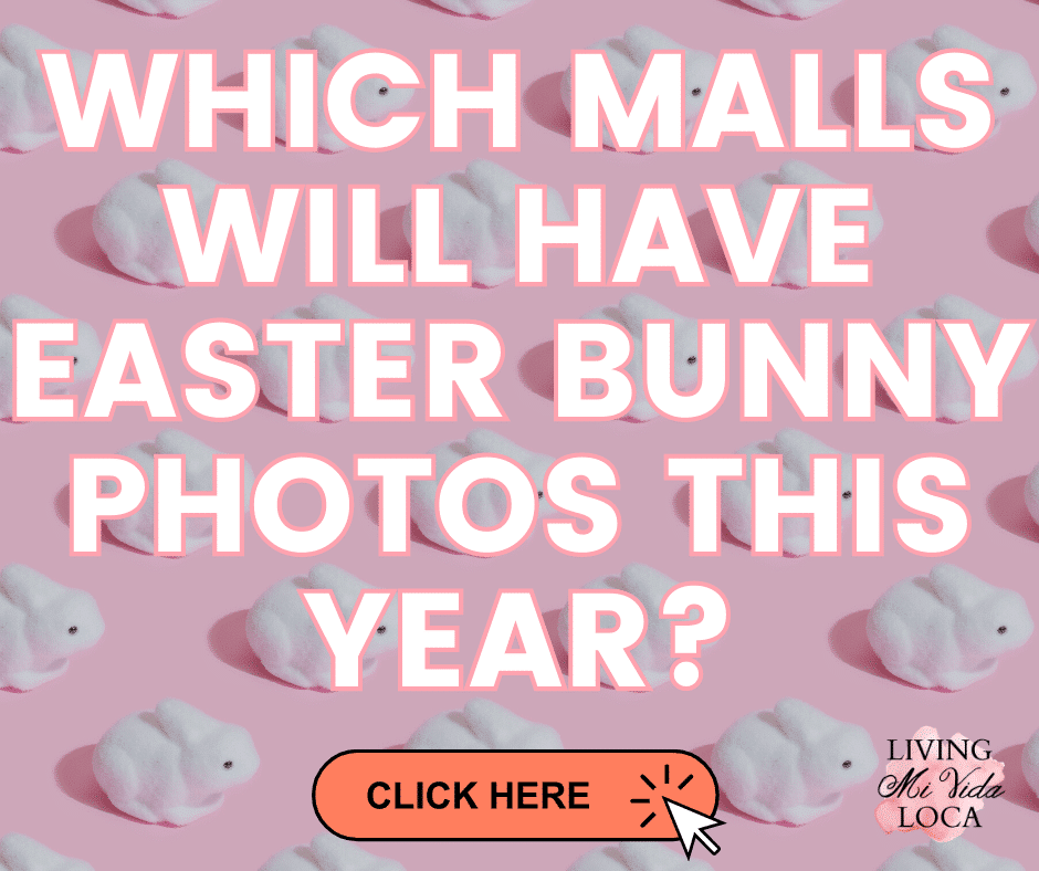 Which malls will have Easter Bunny photos this year? - LivingMiVidaLoca.com