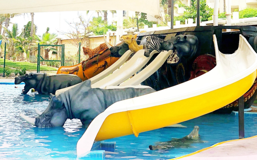 Royal Solaris mini water park in Cabo San Lucas - LivingMiVidaLoca.com