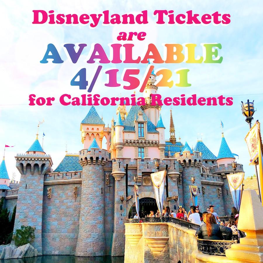 discounted Disneyland tickets available April 15 - livingmividaloca.com