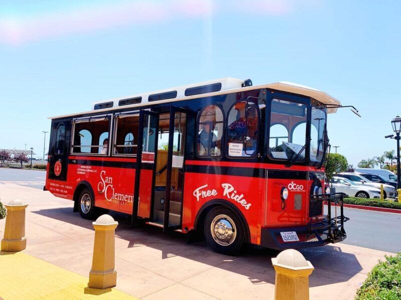 Summer Trolley in San Clemente