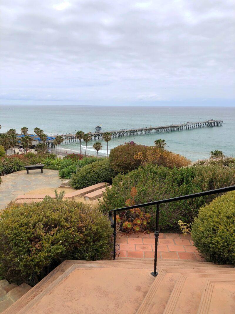 San Clemente Pier and Beach