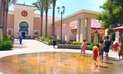 Splash pad at Irvine spectrum - livingmividaloca.com