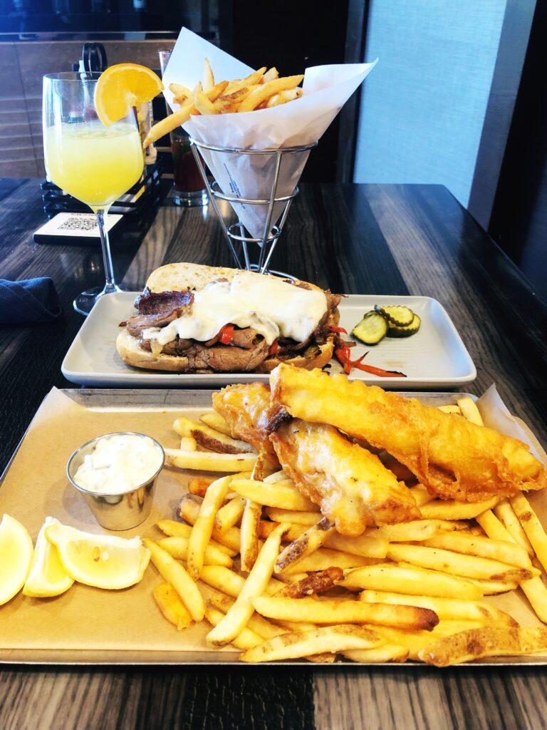 Raiders tavern has large portions