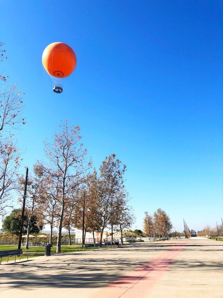 Great Park balloon in Irvine - livingmividaloca.com