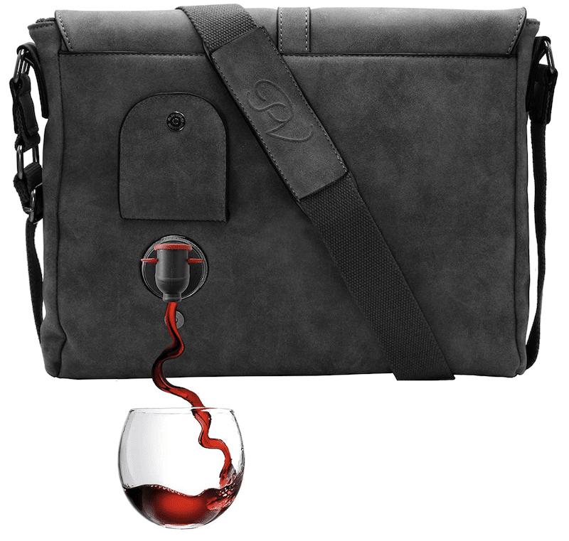 PortoVino Wine Messenger Bag - livingmividaloca.com