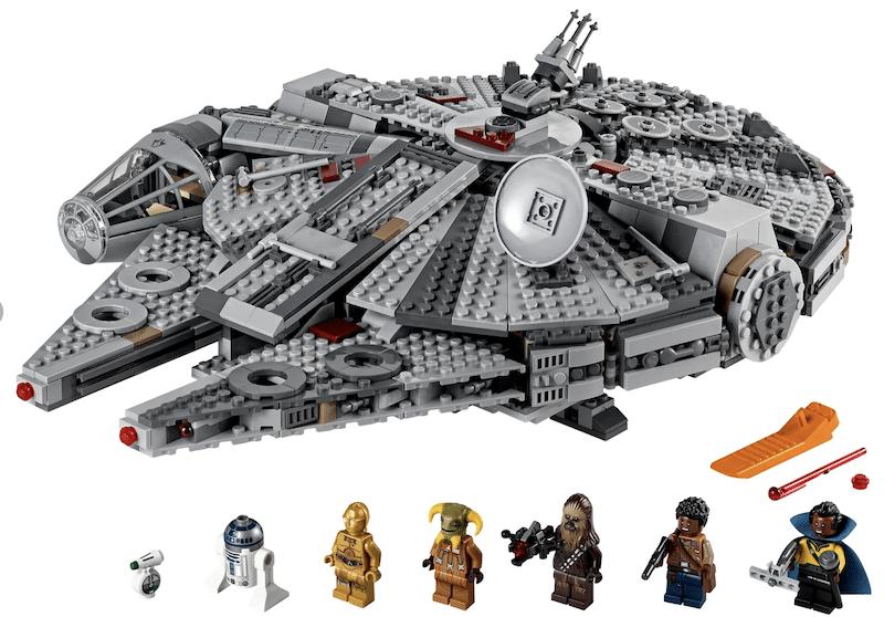 Millennium Falcon LEGO set - livingmividaloca.com