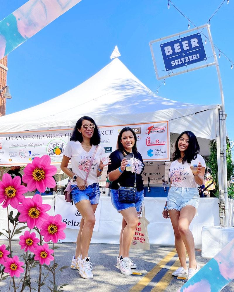Orange International Street Fair - livingmividaloca.com